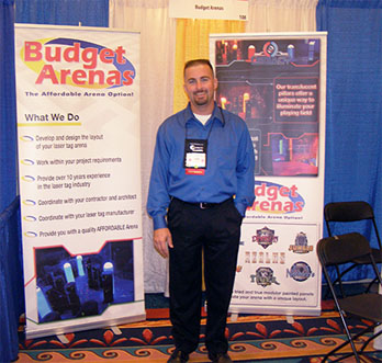 Budget Arenas Booth